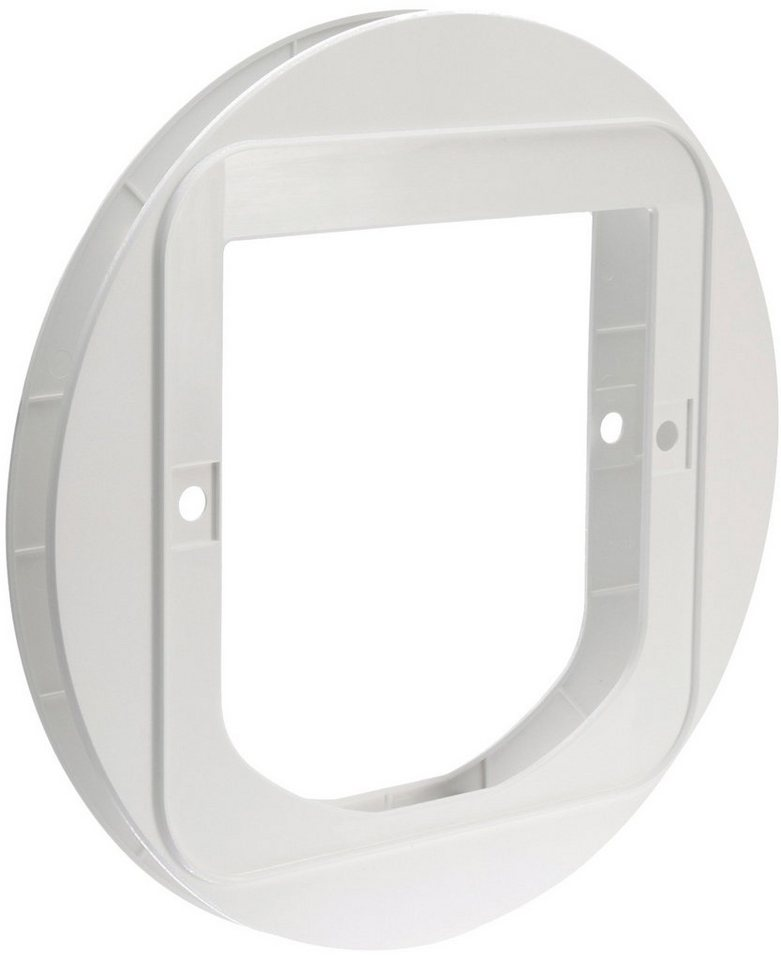Montageadapter »SureFlap«, für Katzenklappe »SureFlap Dual Scan«, weiß in weiß