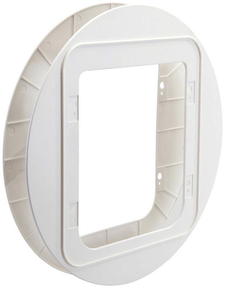 Montageadapter »SureFlap«, für Katzenklappe »SureFlap«, weiß in weiß