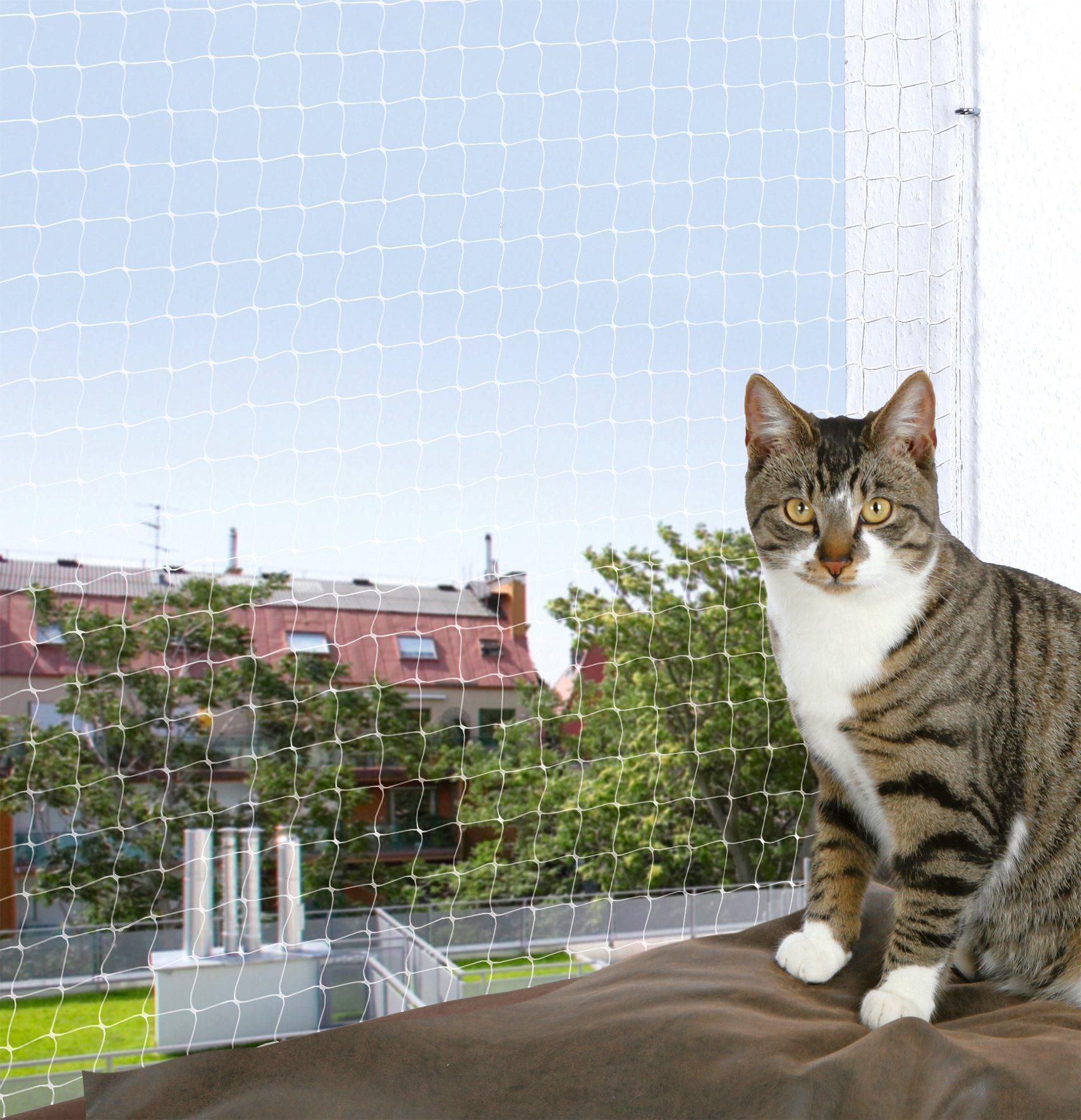 Trixie Schutznetz, BxL: 4x3 m, transparent
