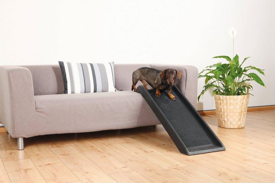 Hunde-Rampe »Petwalk«, BxL: 38x100 cm, belastbar bis 50 kg in schwarz