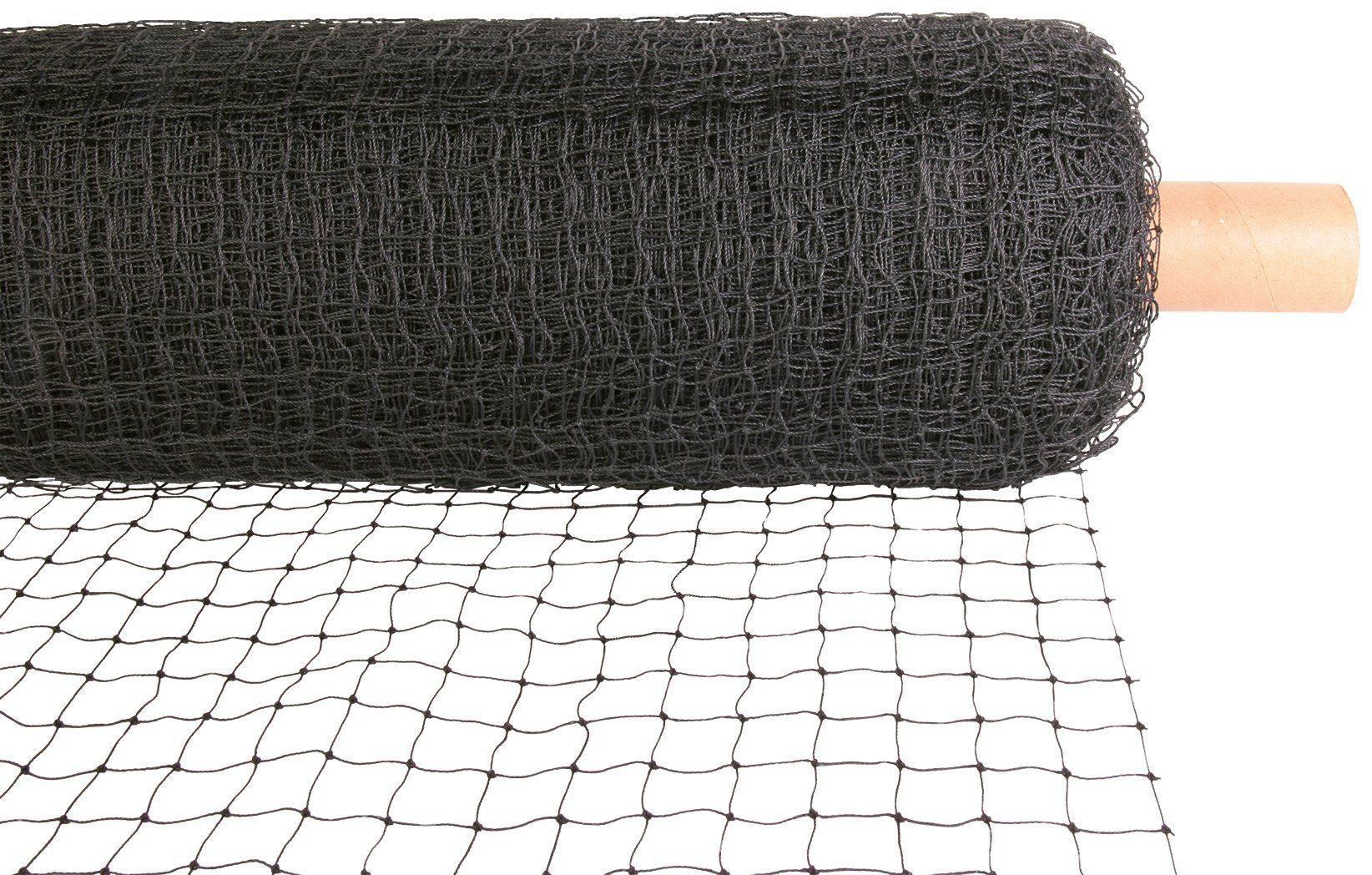 Schutznetz, Rollenware, BxL: 75x2 m, schwarz
