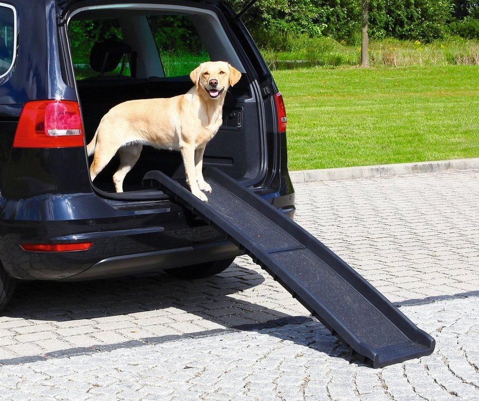 Hunde-Rampe »Petwalk, aufklappbar«, BxL: 40x156 cm, belastbar bis 90 kg in schwarz