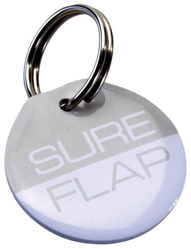 Halsbandanhänger »RFID SureFlap«, für Katzenklappen, 2 Stk. in grau