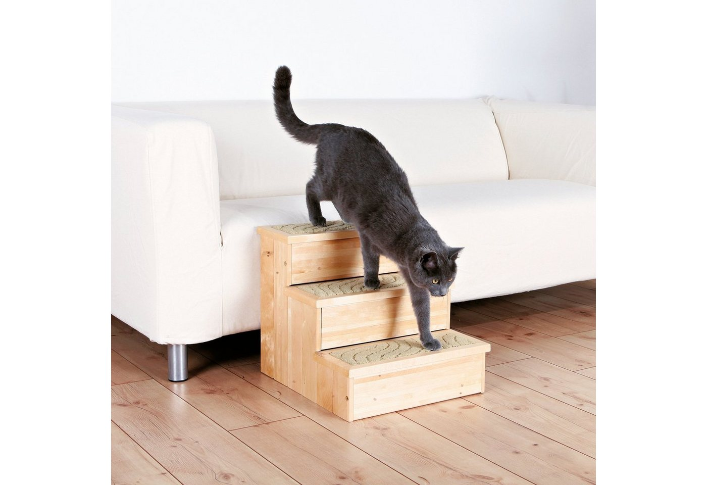 Hunde-Treppe »PetStair«, B/T/H: 40/45/38 cm, belastbar bis 50 kg - Preisvergleich