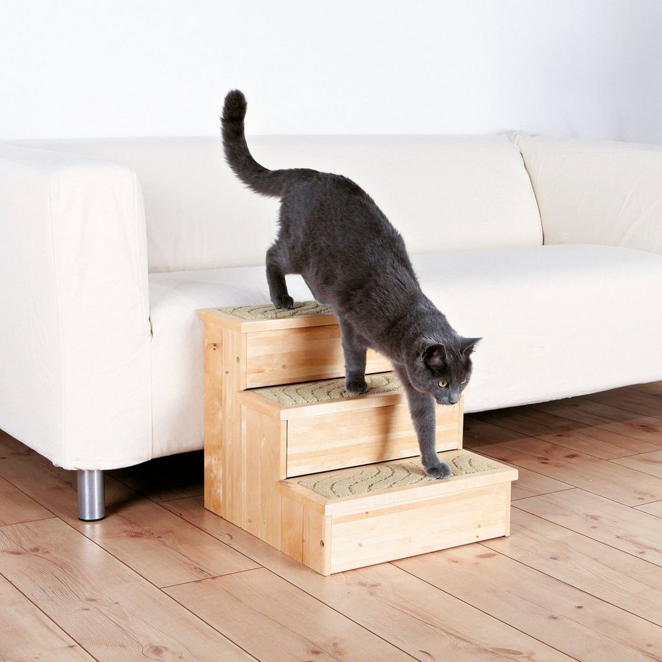 Hunde-Treppe »PetStair«, B/T/H: 40/45/38 cm, belastbar bis 50 kg in natur