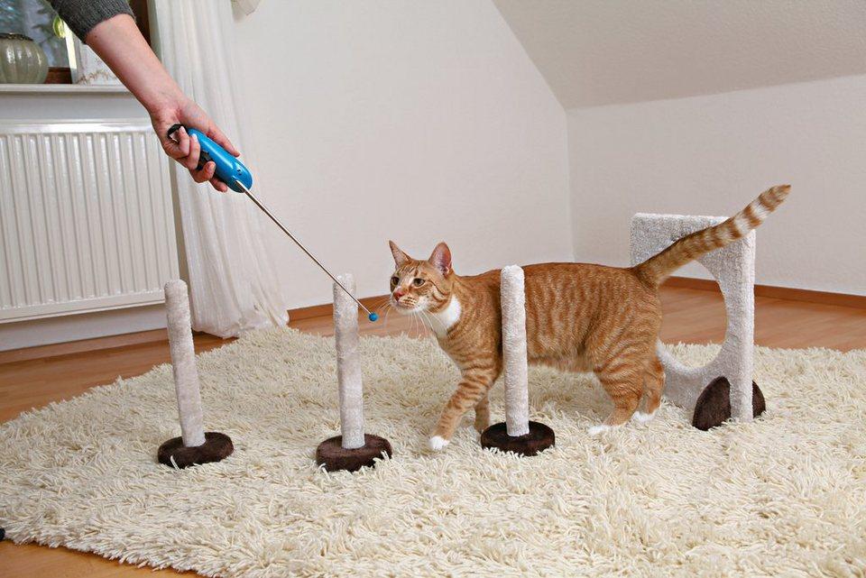 Katzenspielzeug »Agility Slalom und Reifen« in natur