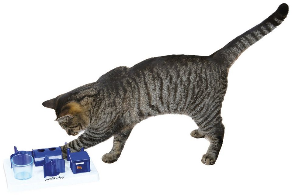 Katzenspielzeug »Mini Playground Strategiespiel« in blau