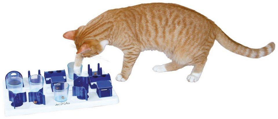 Katzenspielzeug »Playground Strategiespiel« in blau