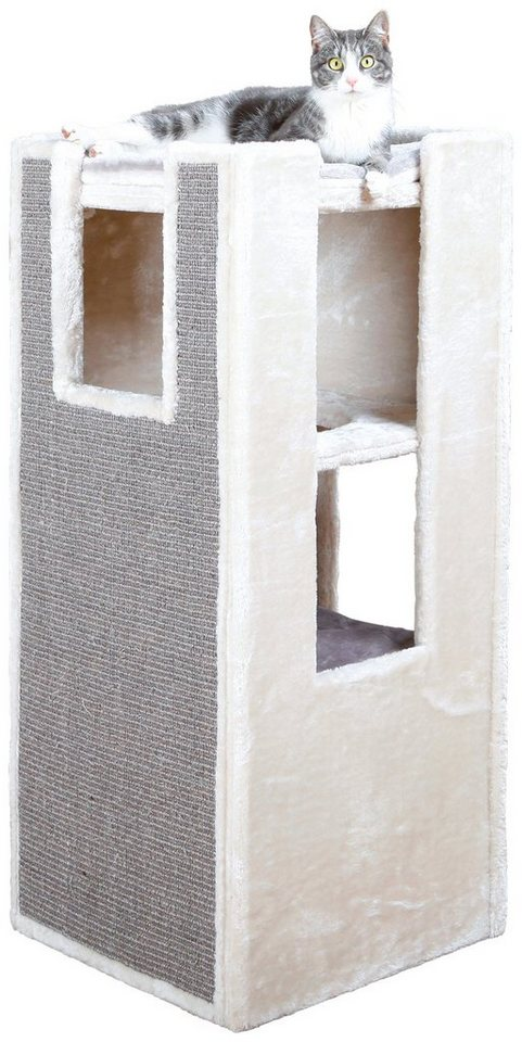 Kratzbaum »Cat Tower Sarita«, B/T/H: 45/45/100 cm, grau in grau