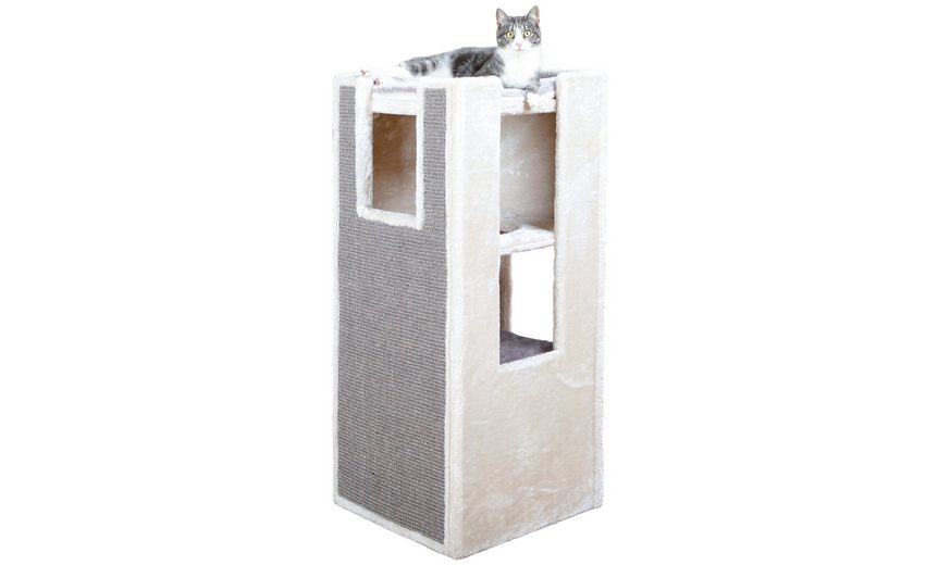 Kratzbaum »Cat Tower Sarita«, B/T/H: 45/45/100 cm, grau