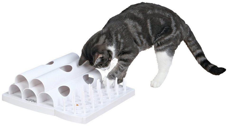 Katzenspielzeug »Domino Basis-Set Strategiespiel« in weiß