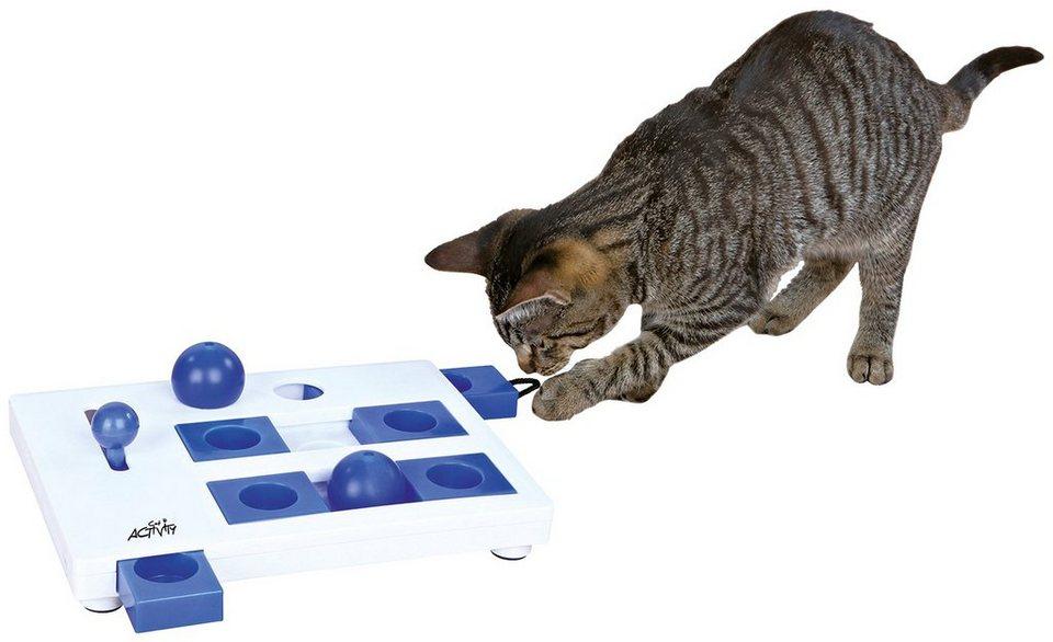 Katzenspielzeug »Brain Mover Strategiespiel« in weiß