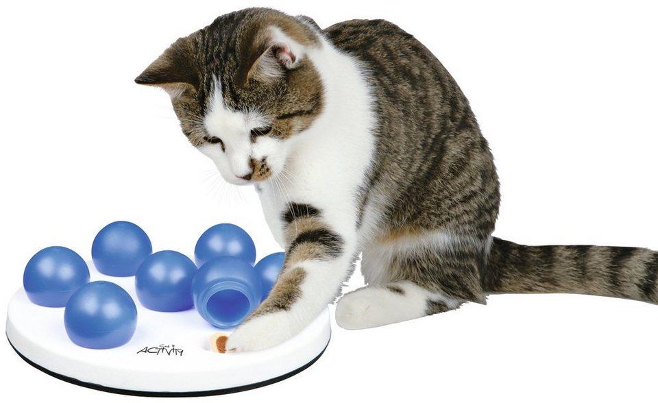 Katzenspielzeug »Solitär Strategiespiel« in weiß