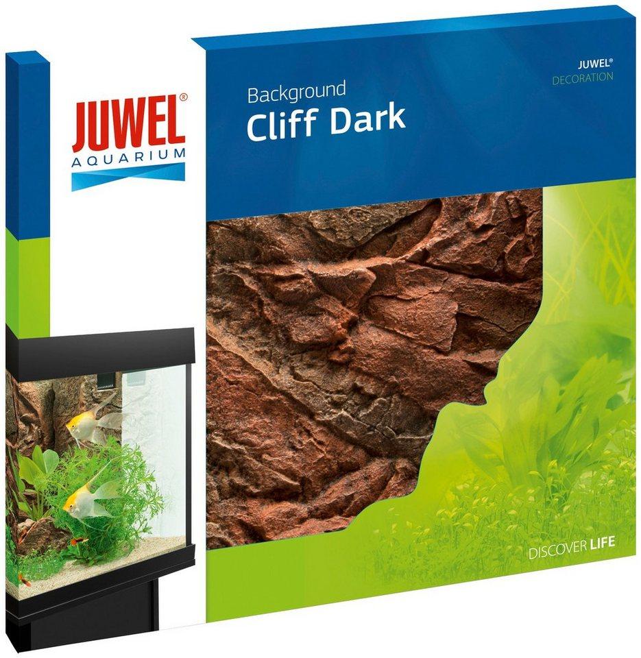 Aquariendeko »Rückwand Cliff Dark« (BxH: 55 x 61,5 cm) in braun
