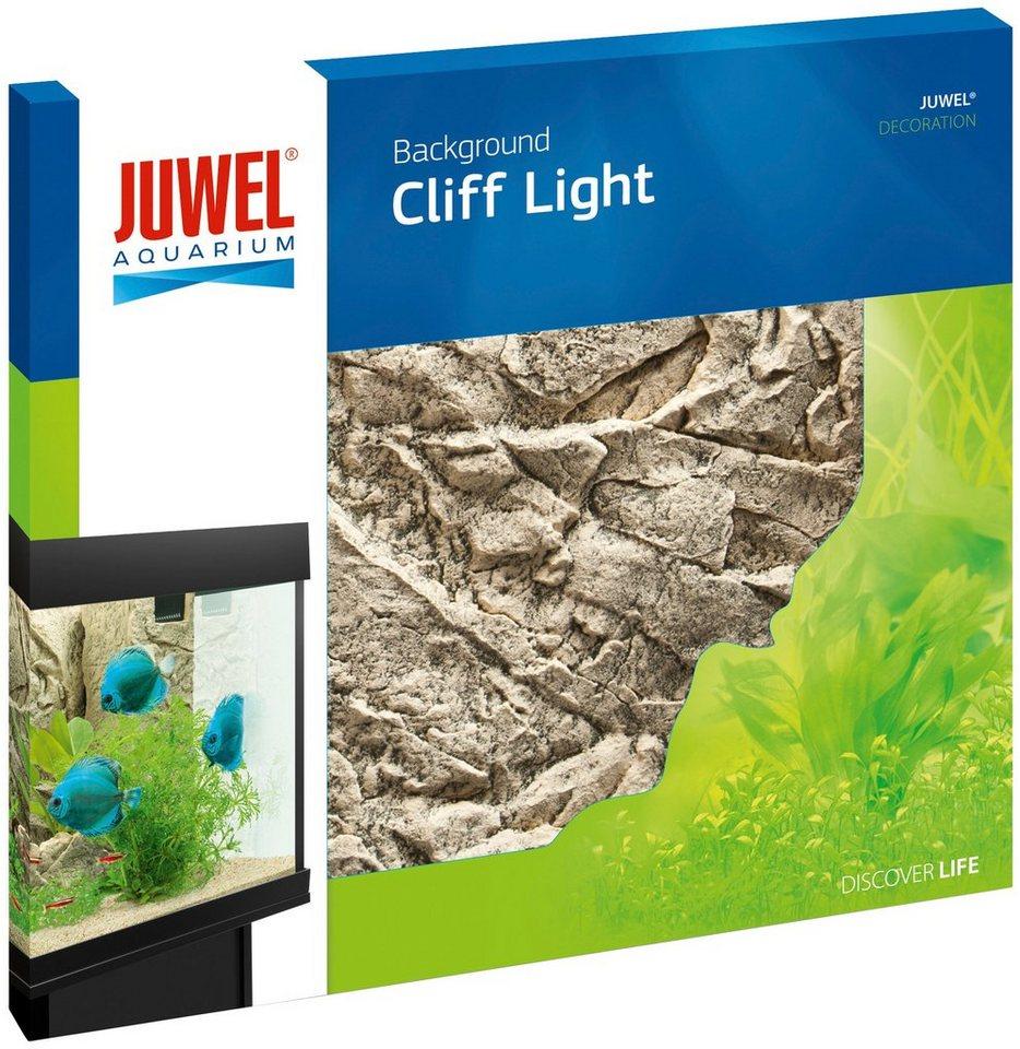 Aquariendeko »Rückwand Cliff Light«, hellgrau in natur
