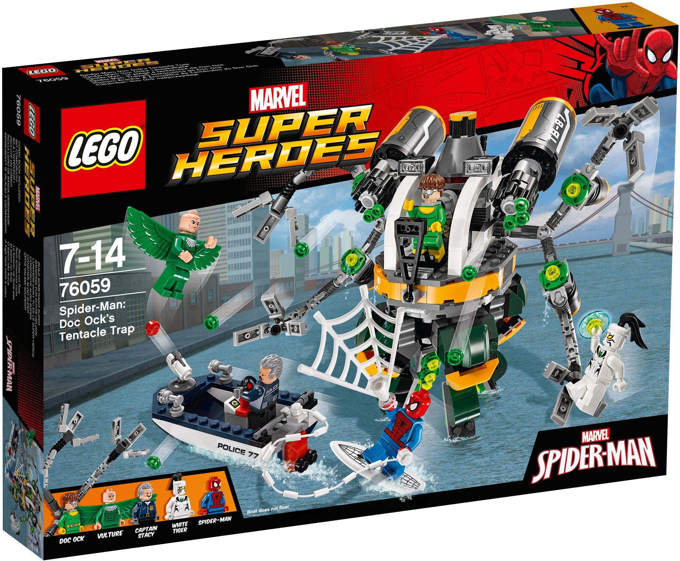 LEGO®, Spiderman Doc Ocks Tentakelfalle (76059), »LEGO® Marvel Super Heroes«