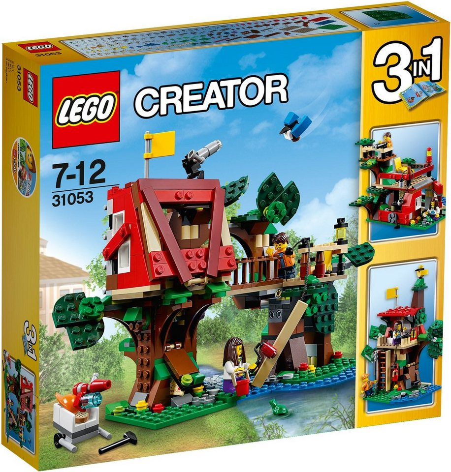 LEGO® 3in1 Baumhausabenteuer (31053), »LEGO® Creator«