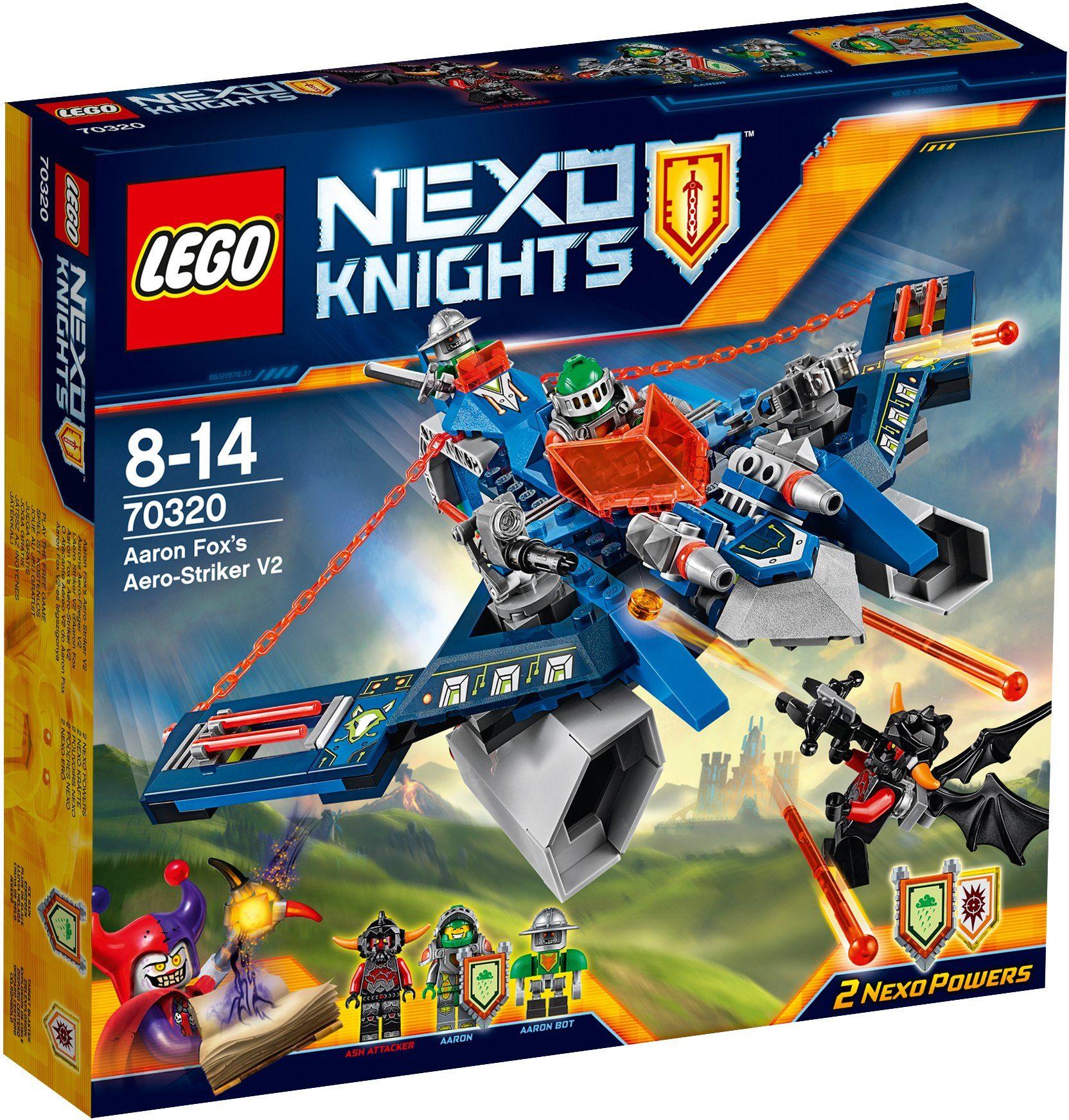 LEGO® 2in1 Aarons Aeroflieger V2 (70320), »LEGO® NEXO KNIGHTS™«