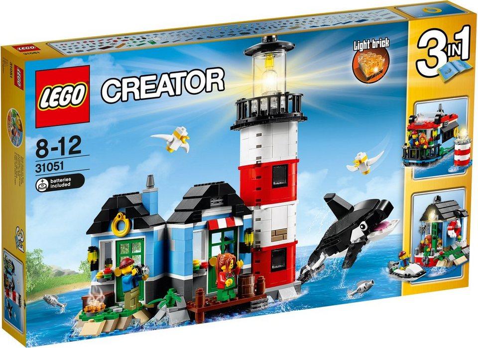 LEGO®, 3in1 Leuchtturm Insel (31051), »LEGO® Creator«