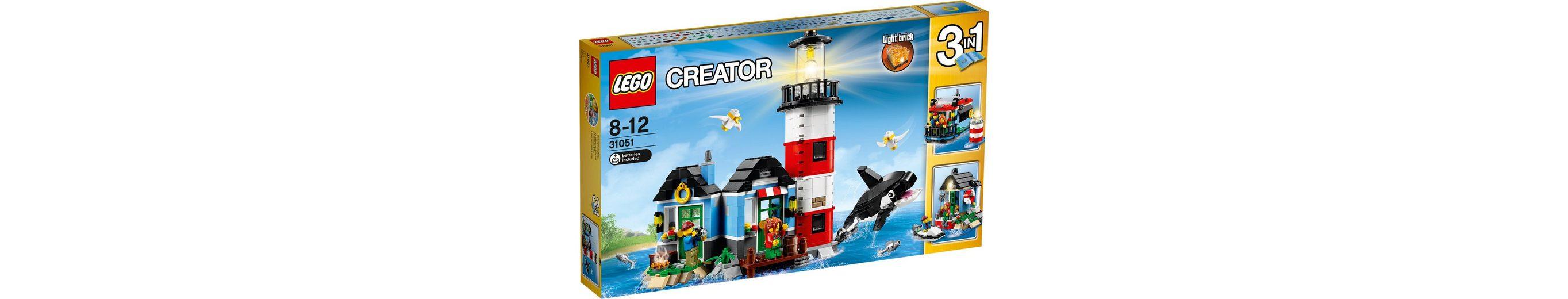 LEGO® 3in1 Leuchtturm Insel (31051), »LEGO® Creator«