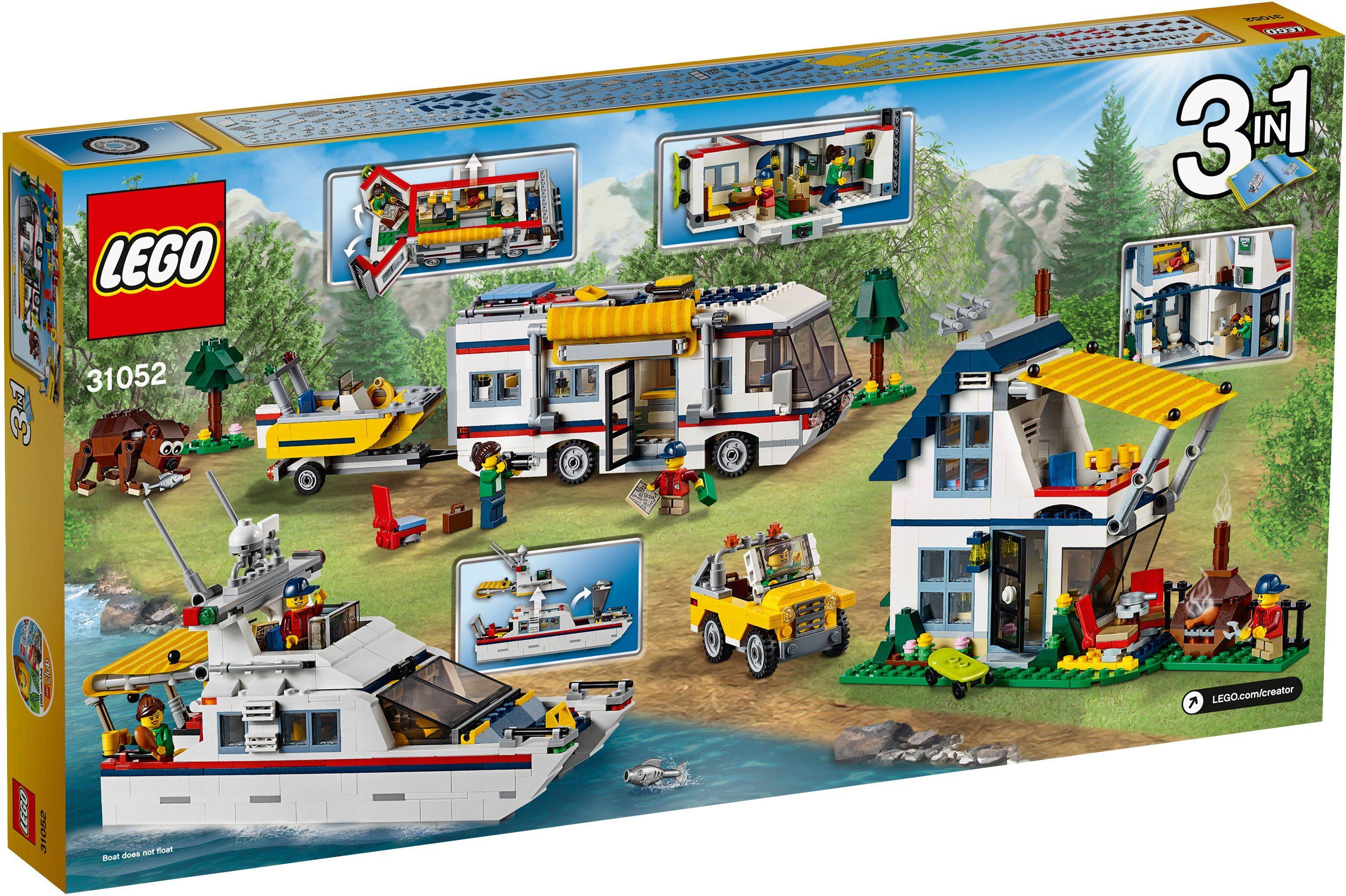 LEGO®, 3in1 Urlaubsreisen (31052), »LEGO® Creator«