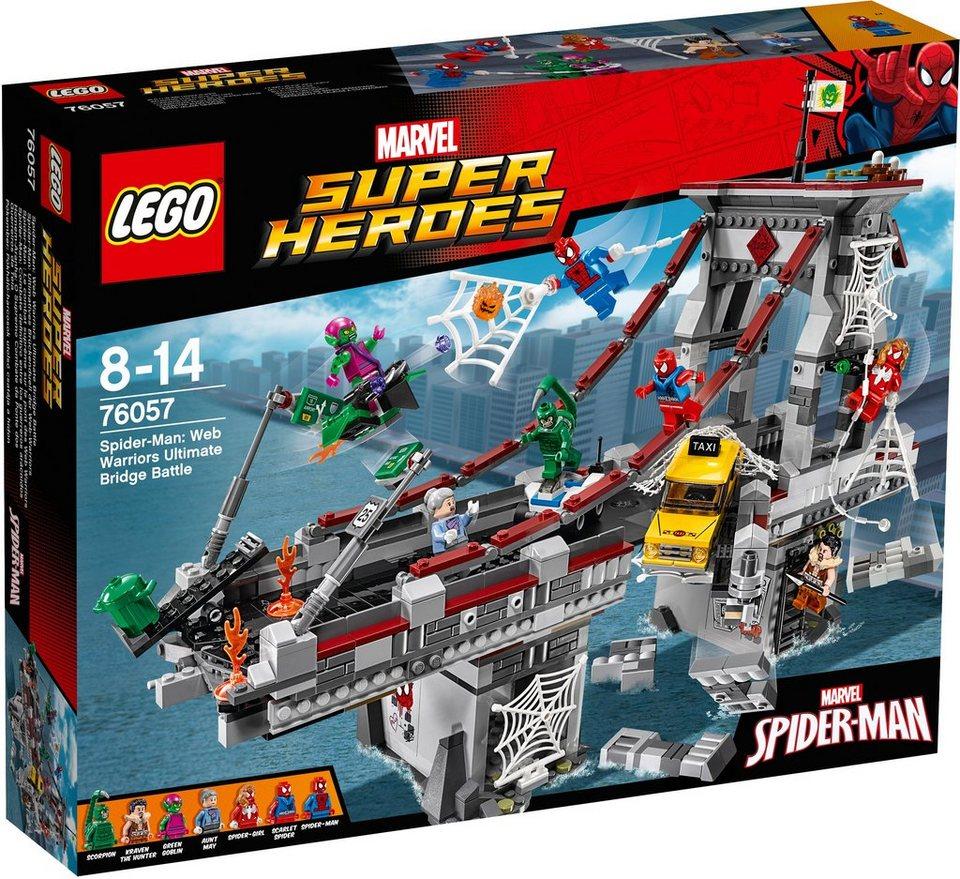 LEGO®, Spiderman: Ultimatives Brückenduell der Web-Warriors (76057), »LEGO® Marvel Super Heroes«