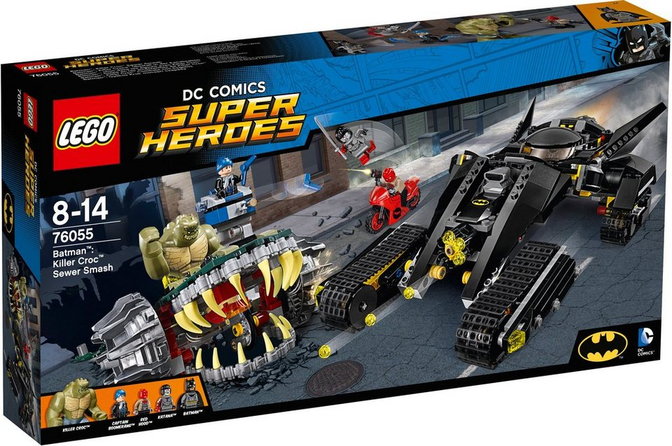LEGO®, Batman™: Killer Crocs™ Überfall in der Kanalisation (76055), »LEGO® DC Comics Super Heroes«