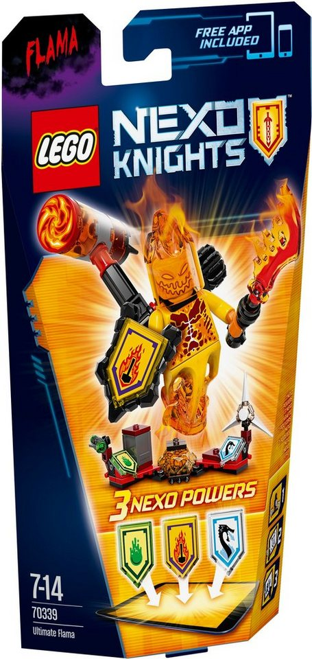 LEGO® Ultimativer Flama (70339), »LEGO® NEXO KNIGHTS™«