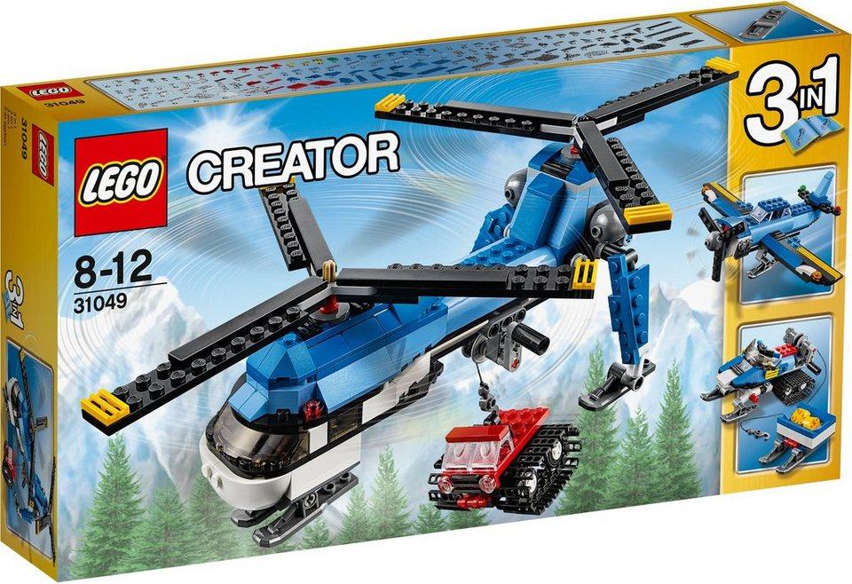 LEGO® 3in1 Doppelrotorhubschrauber (31049), »LEGO® Creator«