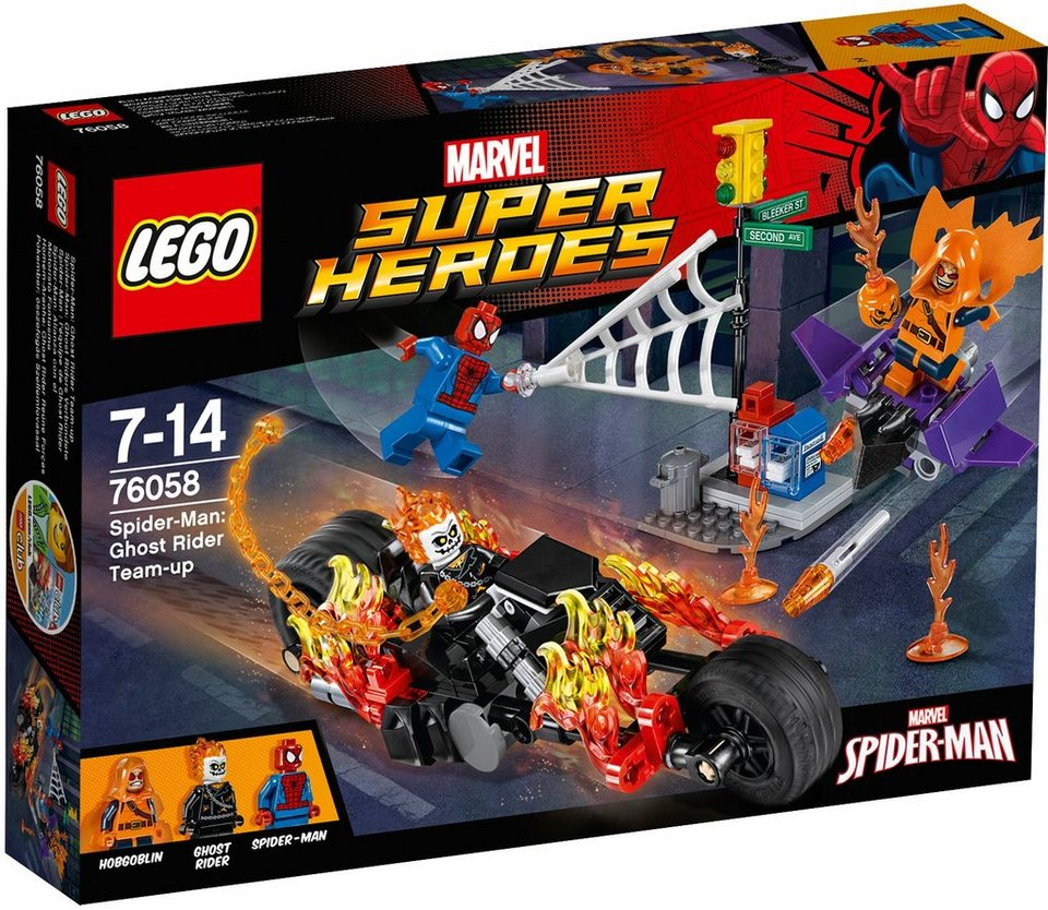 LEGO® Spider Man Ghost Riders Verbündete (76058), »LEGO® Marvel Super Heroes«