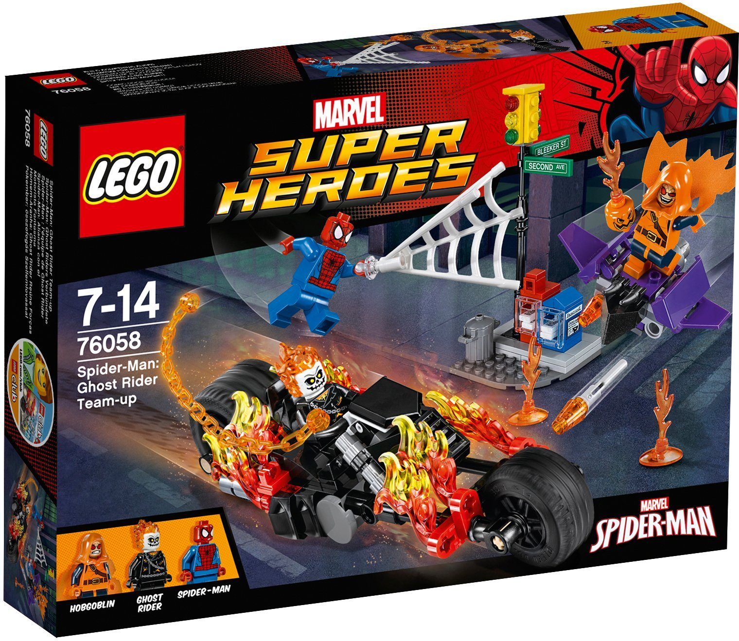 LEGO®, Spider Man Ghost Riders Verbündete (76058), »LEGO® Marvel Super Heroes«