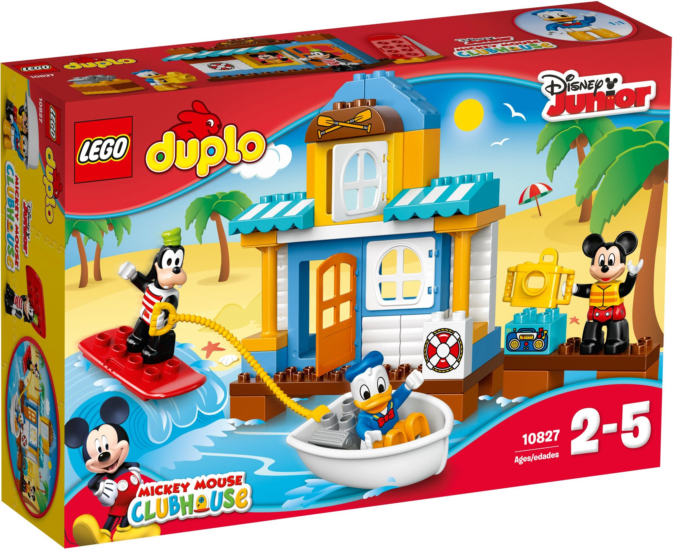 LEGO®, Mickys Strandhaus (10827), »LEGO® DUPLO® Disney Junior Mickey Mouse Clubhouse™«