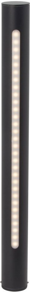 Brilliant LED Außenleuchte, 1 flg., Stehleuchte, »TWIN« in Aludruckguss, Kunststoff
