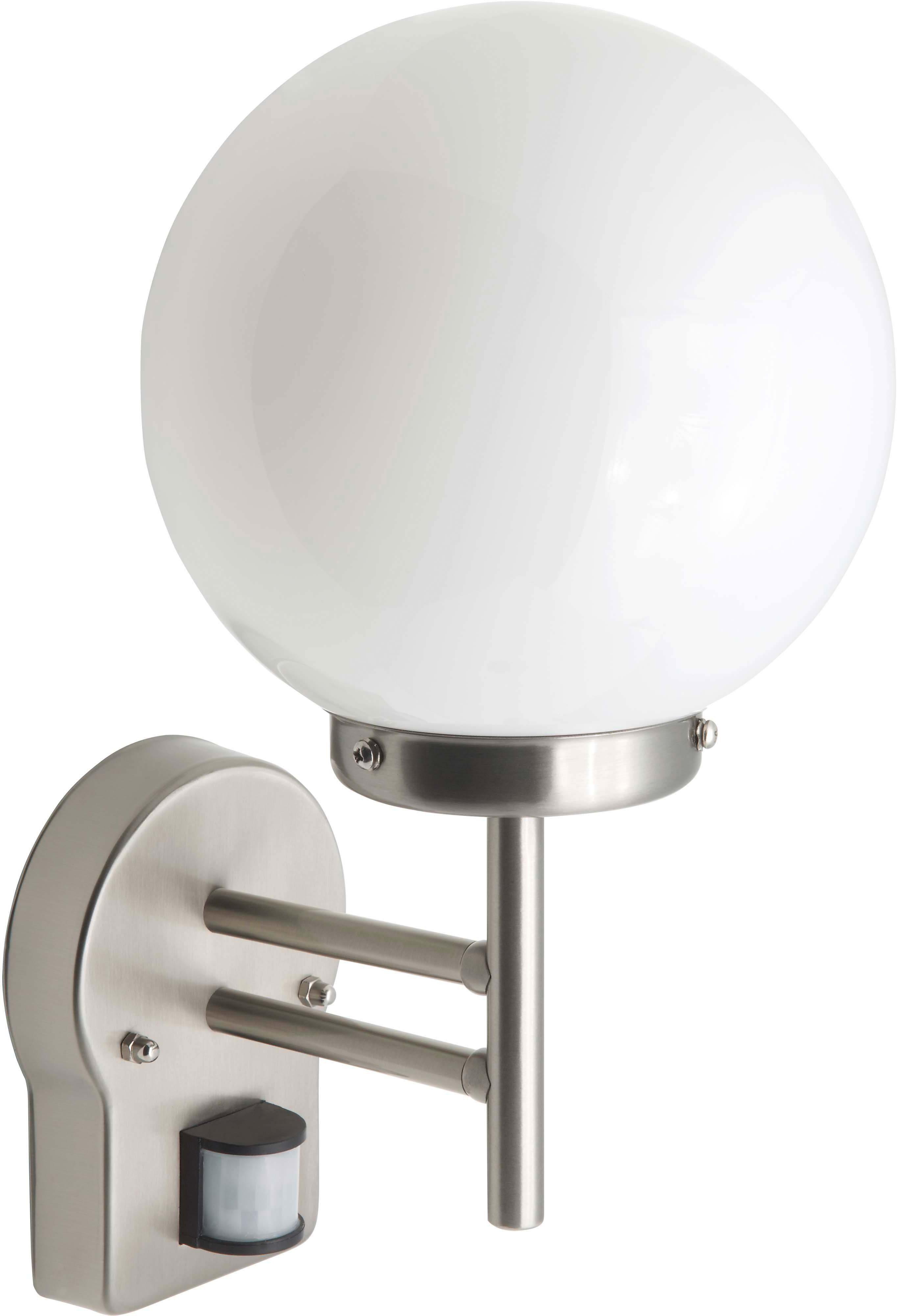 Brilliant LED Außenleuchte, 1 flg., Wandleuchte mit Bewegungsmelder, »AALBORG«