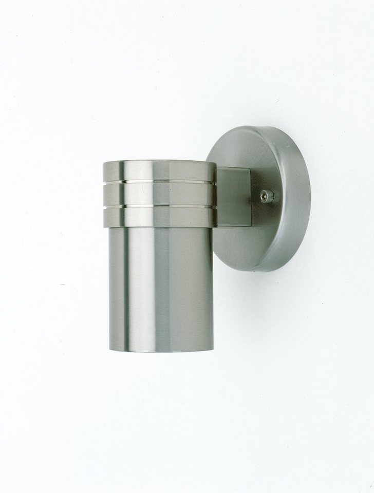 Brilliant LED Außenleuchte, 1 flg., Wandleuchte, »HANNI« in Edelstahl
