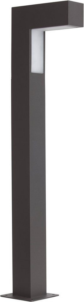 Brilliant LED Außenleuchte, 1 flg., Sockelleuchte, »ASHTON« in Metall, Kunststoff
