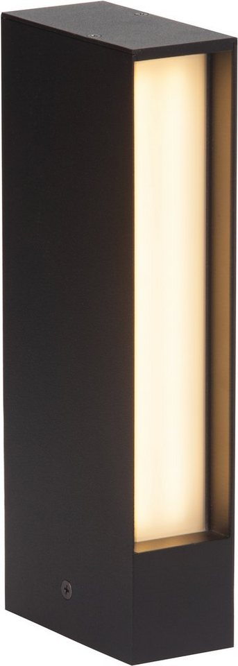 Brilliant LED Außenleuchte, 1 flg., Wandleuchte, »HOLLOW« in Aludruckguss, Kunststoff