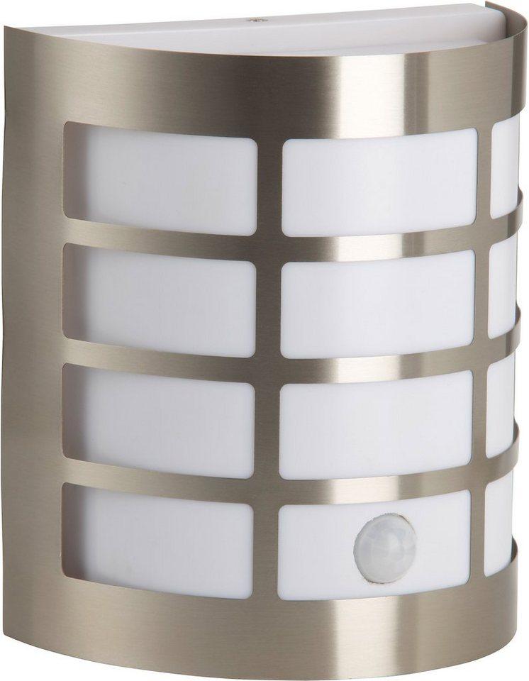 Brilliant Außenleuchte, 1 flg., Wandleuchte mit Bewegungsmelder, »RUNE« in Metall, Kunststoff