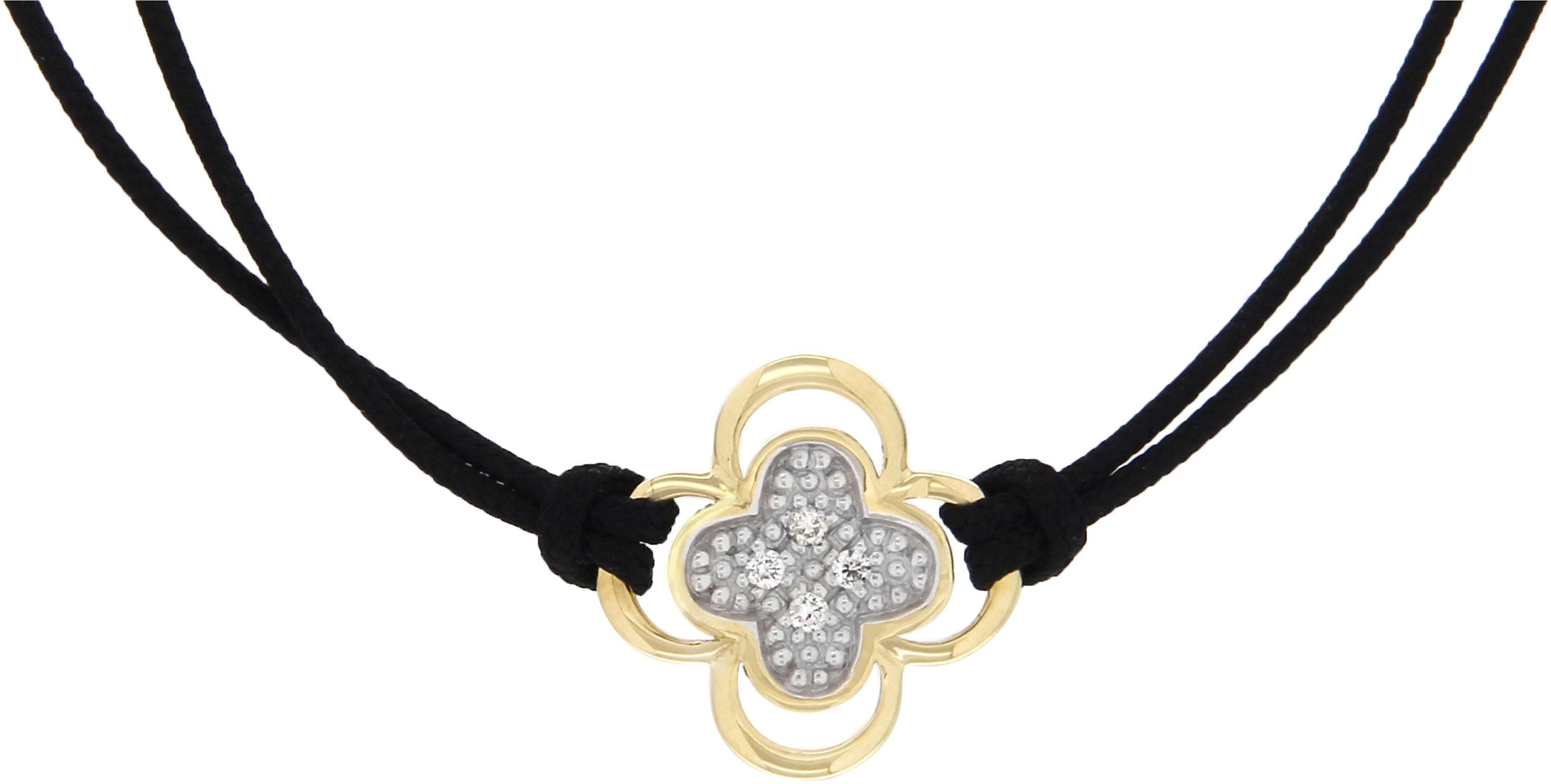 Vivance Jewels Armband »Blume« mit Brillanten