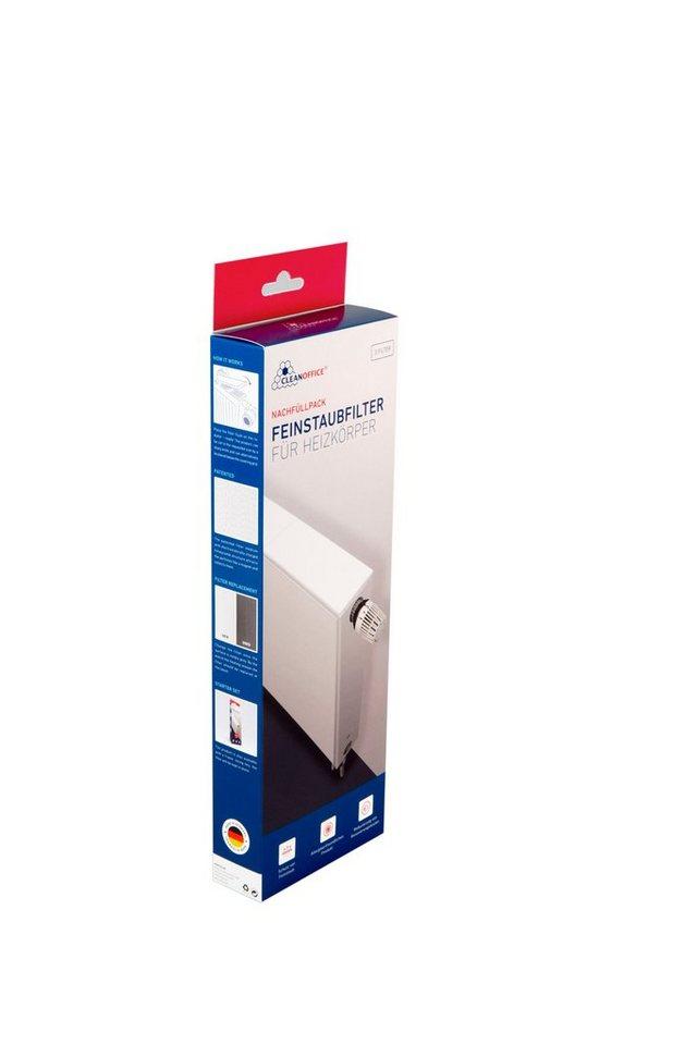 CLEANOFFICE Heizungsfilter »Staubfilter Heizkörper - Nachfüllpack«