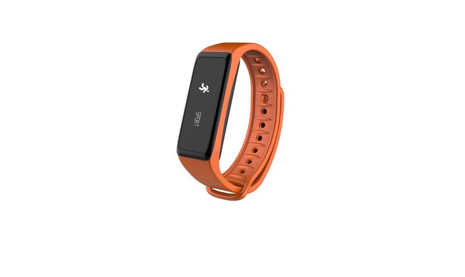 MYKRONOZ Fitnessband »ZeFit2 orange«