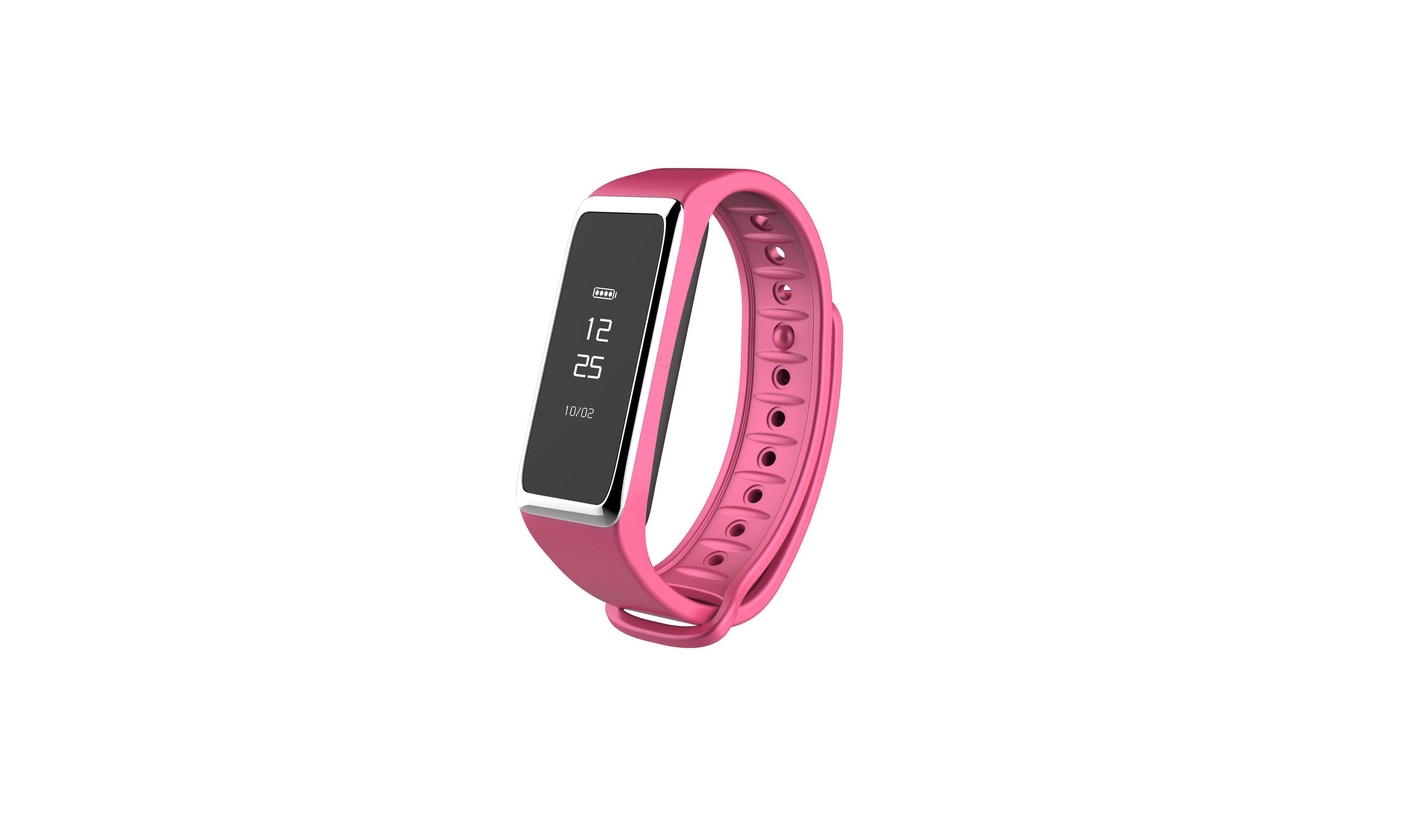 MYKRONOZ Fitnessband »ZeFit2 pink«