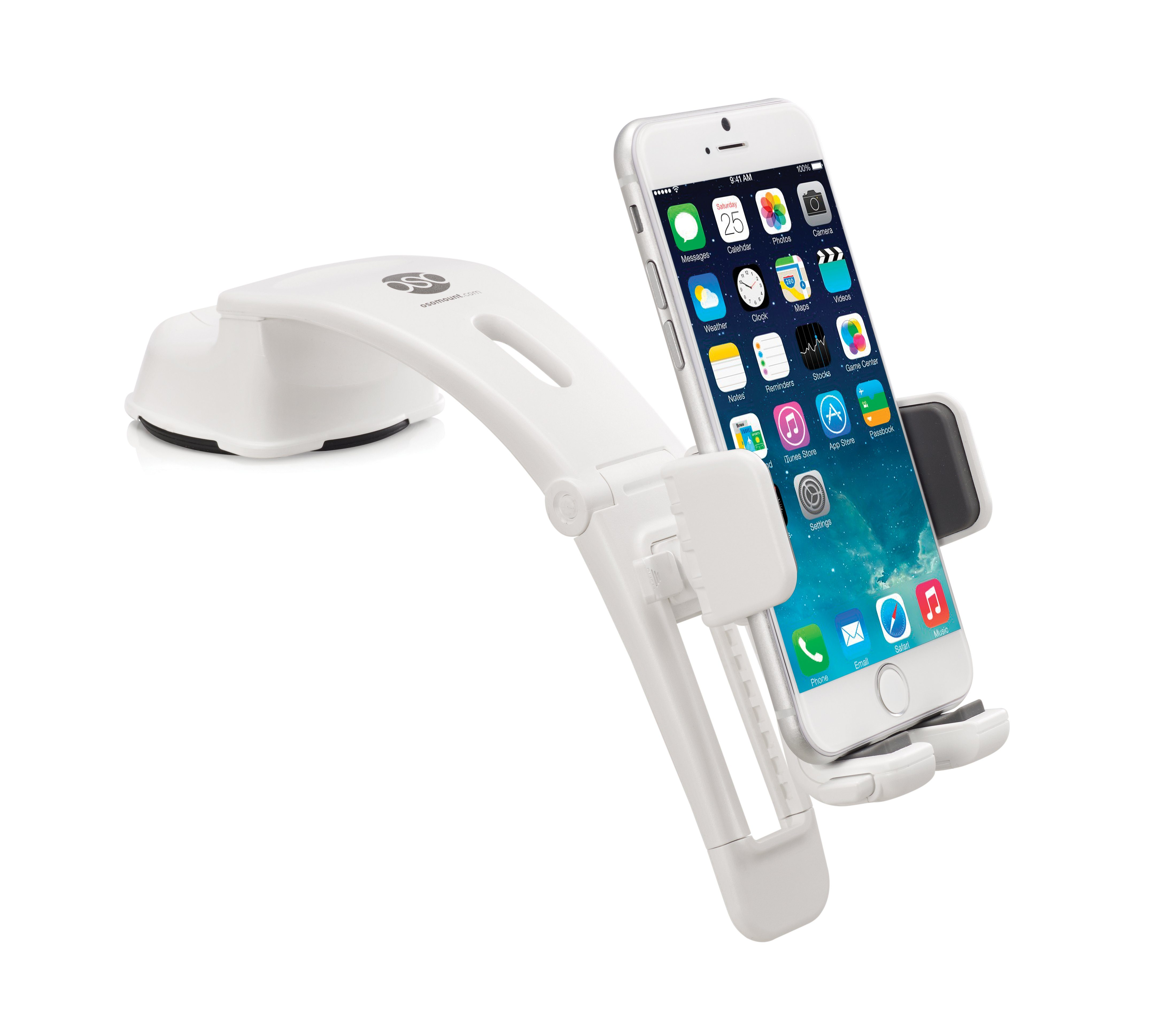 OSOMOUNT Smartphone Halterung »Arc Pro 2-in-1 weiß«