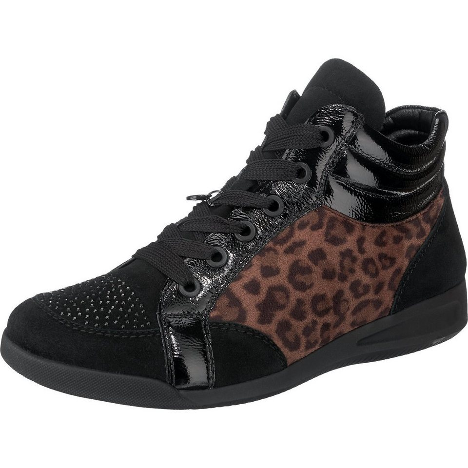 ara Rom Sneakers in schwarz-kombi