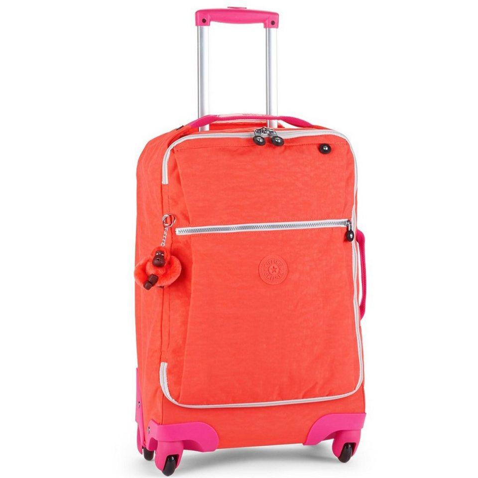Kipling Basic Travel 15 Darcey 4-Rollen Trolley 55 cm in coral rose ct