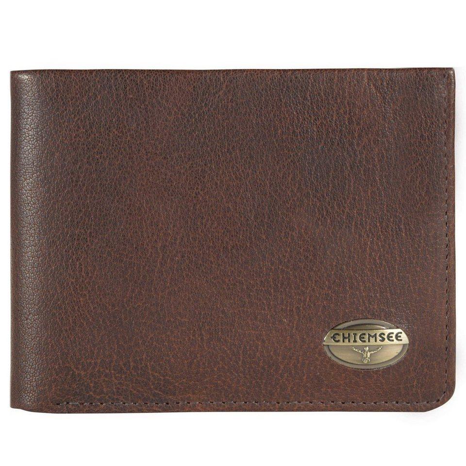 Chiemsee Formosa Geldbörse Leder 13 cm in dark brown