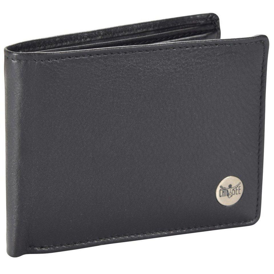 Chiemsee Jerome Geldbörse Leder 11 cm in black