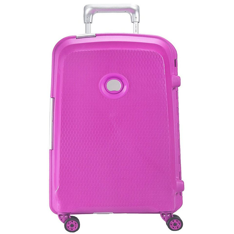 Delsey Belfort Plus 4-Rollen Trolley 76 cm in pink