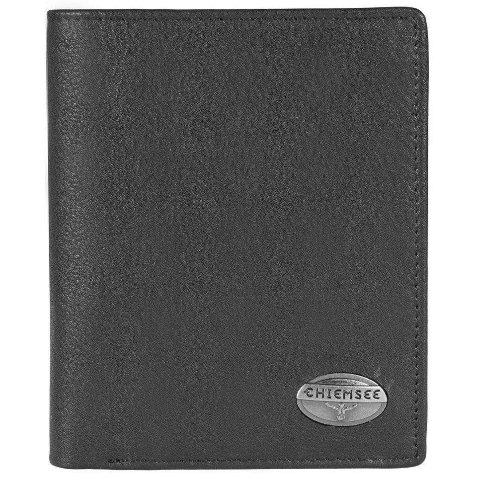 Chiemsee Vidal Geldbörse Leder 10,5 cm in black