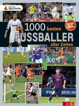 Gebundenes Buch »Die 1000 besten Fußballer aller Zeiten«